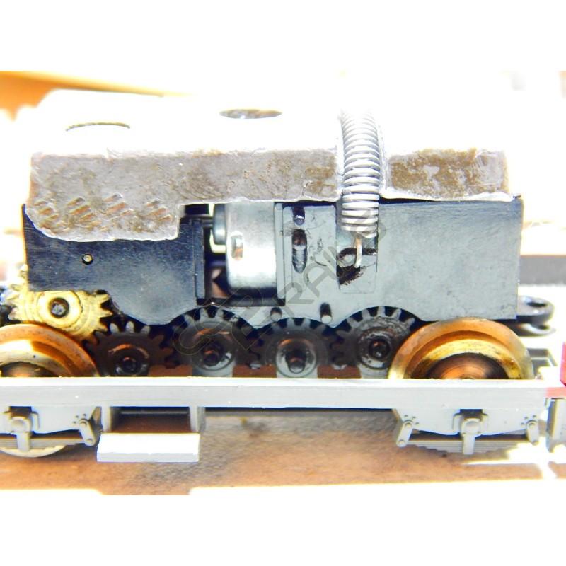 mini moteur mitsumi 12 volts avec pignon 8 dents module 0 5 jouef h. Black Bedroom Furniture Sets. Home Design Ideas
