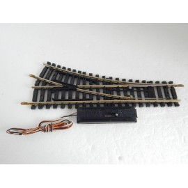 un aiguillage jouef maillechort electrique derive droite. Black Bedroom Furniture Sets. Home Design Ideas