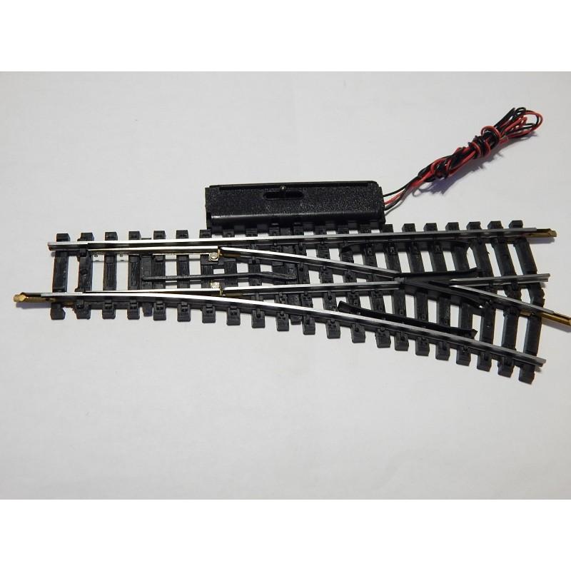 un aiguillage eletrique jouef rails acier derive droite r. Black Bedroom Furniture Sets. Home Design Ideas